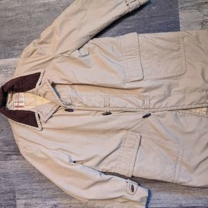 Vintage Mcgregor tan trench coat made in USA